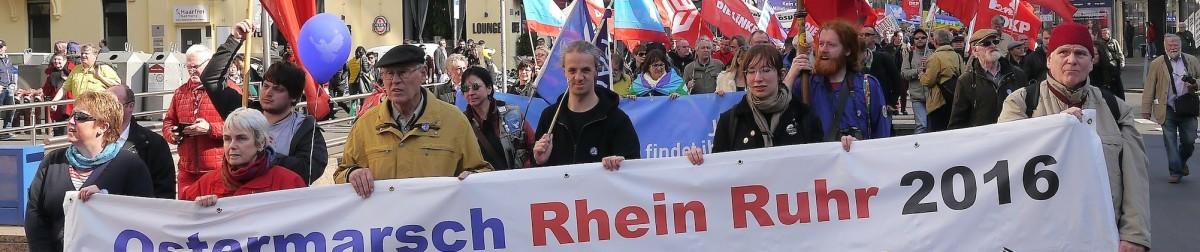 Ostermarsch Rheinland